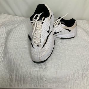 Nike Men's Golf Shoes Size 11.5W White and